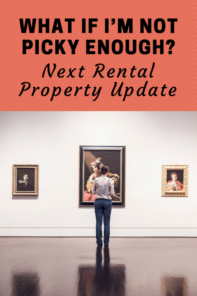 What If I'm Not Picky Enough? Next Rental Property Update