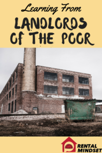 Learning from Landlords of the Poor
