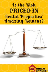 risk priced in rental property