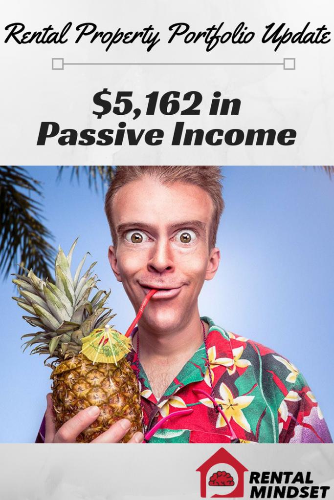 $5,162 in Passive Income – Rental Property Portfolio Update