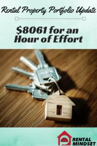 $8061 for an Hour of Effort – Rental Property Portfolio Update